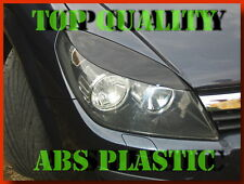 VAUXHALL ASTRA H 3 OPEL HEAD LAPM COVER  EYEBROWS PLASTIC TUNING NEW Bargain