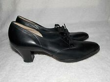 Naturalizer Black Smooth Leather OX Shoes 8.5AA For Women Used