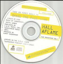 Kurt of Metal Church HALL AFLAME Shake the Pain PROMO DJ CD Single 1991 USA MINT
