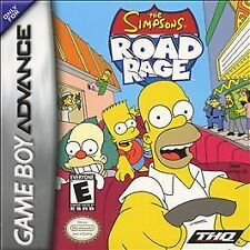 The Simpsons Road Rage gba (Nintendo Game Boy Advance, 2003) ( cartridge only )