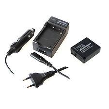 Akku und Ladegerät für Panasonic Lumix DMC-TZ81 DC-TZ91 DMC-TZ101
