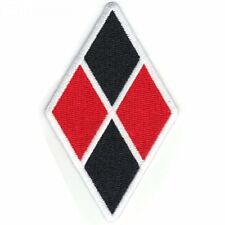 "Diamond 2"" x 3.5"" Logo Sew Ironed On Badge Embroidery Applique Patch"