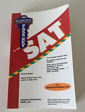 Barron's Pass Key to SAT Prep Study Guide Book Seventh Edition