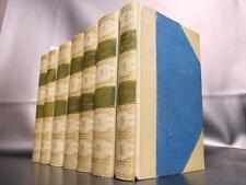 RAMAGE SIGNED BINDINGS Complete Set Vellum LEATHER Gilt ANTIQUE George Eliot vtg