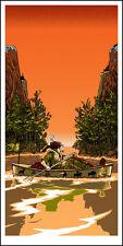 Ramblin' Man Poster - Tim Doyle - Limited Edition of 150 - Moonrise Kingdom