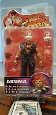 Street Fighter Sota Toys Akuma Rare White Hair Variant Figure