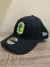 Nashville SC New Era 9FORTY Core MLS Adjustable Hat - Black - Soccer