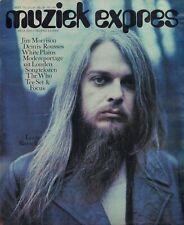 MAGAZINE MUZIEK EXPRES 1971 nr. 189 - ROLLING STONES/LED ZEPPELIN/WHO/GRAND FUNK
