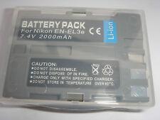 Batterie EN-EL3e ENEL3e pour NIKON D-Series D100 D200 D300 D300S D50 D70 D80