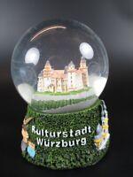 Schneekugel Würzburg Festung Marienberg,Residenz, Snowglobe Germany Souvenir