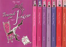 LE JOURNAL D'UNE PRINCESSE tomes 1 à 10 + hors série Meg Cabot jeunesse livre