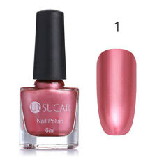 6ml Spiegel Metallic Chrom Nagellack Rose Gold Blau Maniküre Lack UR SUGAR