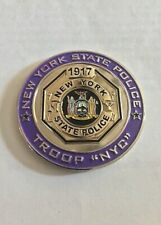 New York State Police - Troop NYC Challenge Coin - Trooper Big Apple - Collect