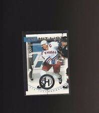 1996-97 Donruss - Hit List #8 Mark Messier /10000