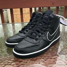 best service 1d02c 2d279 Nike Vandal High Supreme Size 10 Black White Leather Lifestyle Shoes AH8518 -003