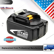 Replace 5.0Ah for Makita 18V Battery Lithium-Ion BL1830 BL1815 BL1850 5000mAh
