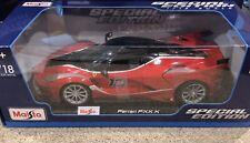 Maisto 1:18 Scale Special Edition Diecast Model - Ferrari FXX K (Red)