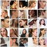 Fashion Womens Circle Geometric Pendant Dangle Drop Statement Earrings Jewelry