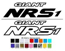 Giant NRS frame Bike Decal Sticker Set of 4 MTB DH Road Forks Shock XTC AIR