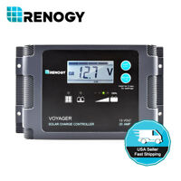 Renogy Voyager 20A PWM Waterproof Solar Charge Controller 12V Battery Regulator