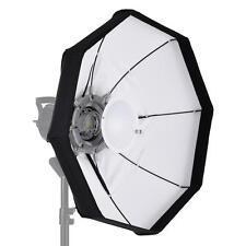 60cm Foldable Video Light Beauty Dish Softbox+Bowens Mount Studio Strobe A4Z7