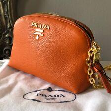 NWT Prada Leather Cross Body Bag