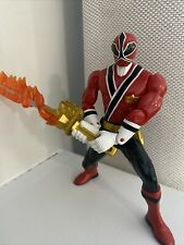 "Bandai 6"" Power Rangers Samurai Action Figures, Red Rangers"