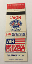 Matchbook Cover Matchcover US Military Air National Guard MA