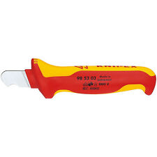 Knipex Round Cable Hook Knife Dismantling Tool 1000V VDE Insulated 98 53 03