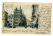 AK Gruß aus Cottbus Berlinerstrasse 1899