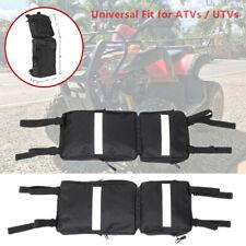2x ATV UTV Saddle Bag Fender Car Luggage Backpack Of Snowmobile Support Storage