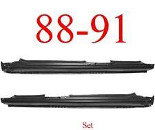 88 91 Honda Civic Sedan Extended Rocker Set Panel 4 Door