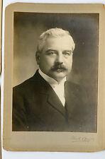 Vintage Cabinet Card Dr. J. G. Adams Vice Chancellor Liverpool University