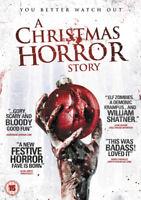 A Christmas Horror Story DVD (2015) William Shatner, Harvey (DIR) cert 15