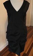 Veronika Maine Black Sleeveless Cocktail Dress- Size 12