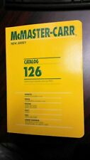 Mcmaster Carr Catalog #126 New Jersey Still Boxed