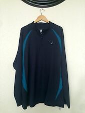 NEW! Champion Mens Half Zip Pullover  Double Dry Jacket Mens 2XL Cambodia Made