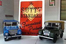 Vintage sutty Pompe à pied étiquette décalque pour Land Rover Série 1 2 2 A 3