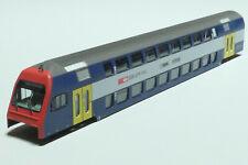 E572 Fleischmann 1x Gehäuse für SBB Steuerwagen klp blau 8153 NEU