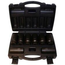 Cal Van Tools 976 8 Piece 12 Point Axle Nut Socket Set