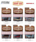 THE HOBBY SHOP SERIES 4 SET OF 6 CARS 1/64 DIECAST MODELS BY GREENLIGHT 97040