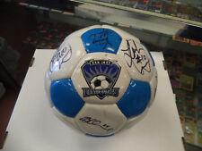 San Jose Earthquakes Team Signed Soccer Ball by 20 Landon Donovan Signed Twice