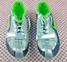 Nike Zoom Rival S Spuntoni da Uomo Taglia 11.5 Track & Field Scarpe Argento
