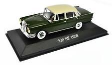Voiture modèle réduit collection 1/43ème Mercedes 220SE 1959