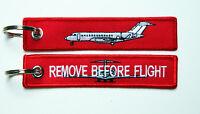 Keyring Bombardier Global Express Business Jet Remove Before Flight GLEX Pilots