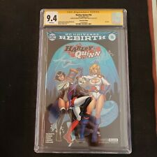 Harley Quinn #16 CGC Signature Series 9.4 Signed Conner & Palmotti VIRGIN FOIL