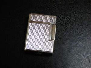 Dunhill Ladies 'London' Rollalite Lighter - Silver Plated in Beautiful Condition