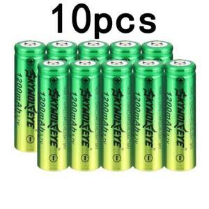 Pack Of2 Abc 26650 Skywolfseye Rech 3.7 Volt Batt With Safety Cut Off 8000 Ma
