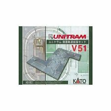 KATO 40-801 UNITRAM Expansion Crossing Track Set V51 From Japan