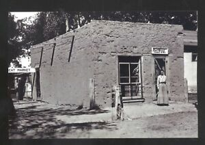 REAL PHOTO ESPANOLA NEW MEXICO NM UNITED STATES POST OFFICE POSTCARD COPY